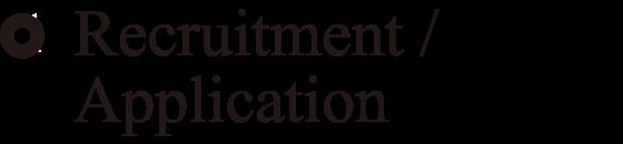 Recruitment/Application
