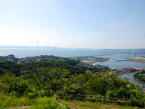 高津子山(章魚頭姿山)